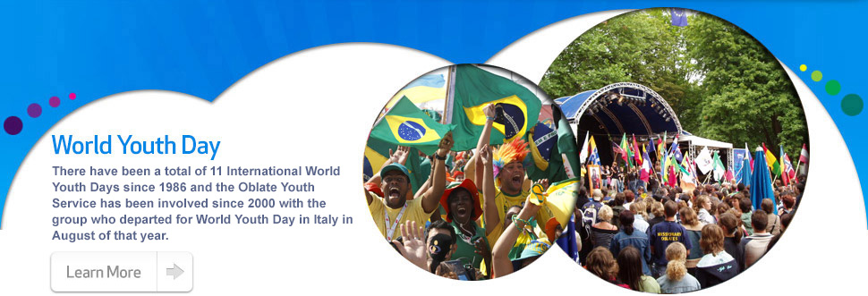 The Oblate Youth Service's involvement in World Youth Day...