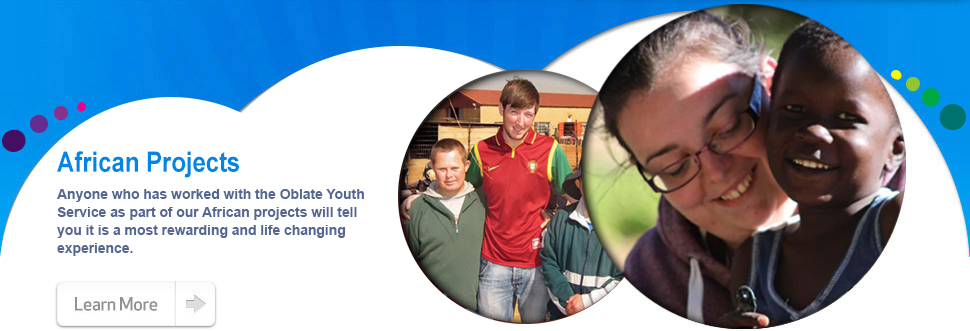 The Oblate Youth Service's involvement in South Africa...