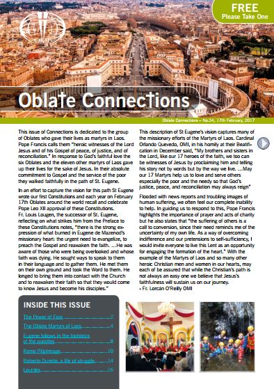 Oblate Connections Magazine - February 2017